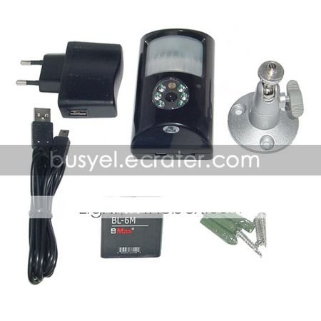 Infrared PIR Detector Digital Video Recorde with Night Vision,Pin hole camera(QW118)