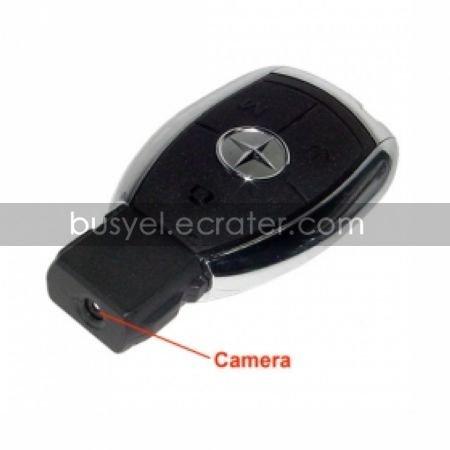 Mini Car Key Style Spy Camera with Sound Activation
