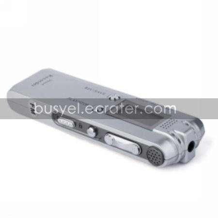 Mini Digital Voice Recorder MP3 Player Voice Activated Recording Telephone Recorder,FM Radio