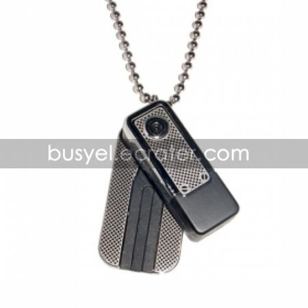 Motion-Activated Necklace Style Mini Digital Video Recorder 2GB Memory included Hidden Camera