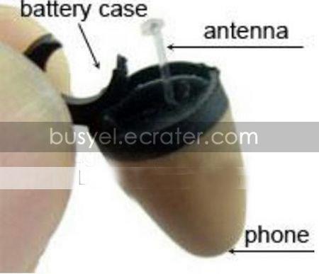 Spy Earphone + Bluetooth receiver