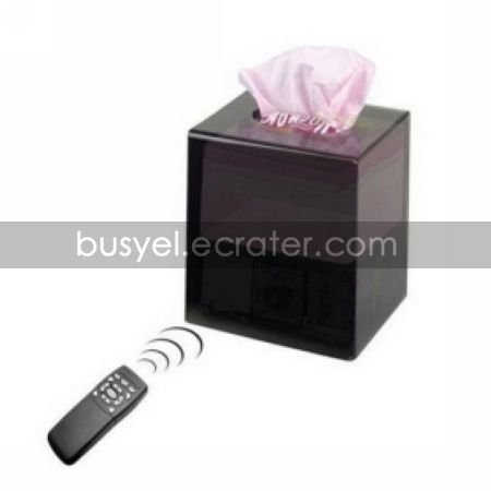 Tissue Box Style Camera (HR, WIFI, Supports up to 32GB)