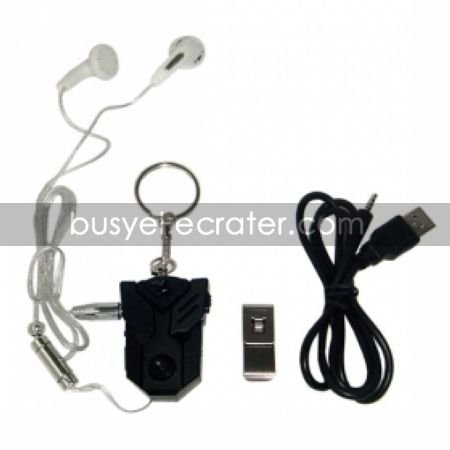 Transformer Style Mini Digital Video Recorder with MP3 Player and Web PC Camera Hidden Camera