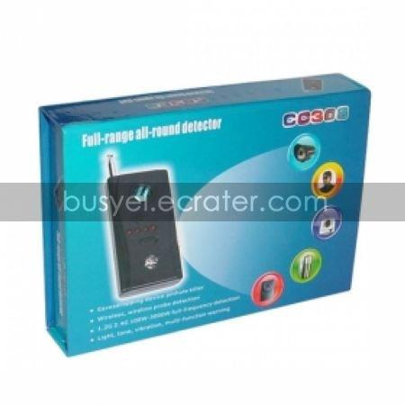 Powerful Audio Bug + Hidden Camera Detection Device