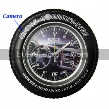 4GB Clock Style Camera with Motion Sensor