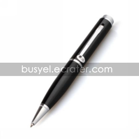 1280*960 Pixel Low Illumination Ball Spy Pen Camera DVR with Build in 2G to 8G Memory/Hidden Camera