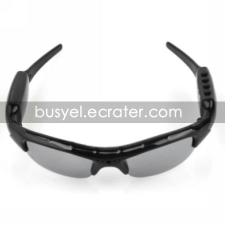 HD 1280960 Spy Sunglasses Camera with Digital Video Recorder MP3 Player Function Build-in 8GB