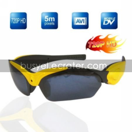 Real HD 720P Sexy Sport Sunglasses Digital Video Recorder, 4G Memory IncludedHidden Camera (TRA635)
