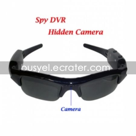Sexy Sunglasses Spy Camcorder with 2GB Memory Card Hidden Camera (TRA476)