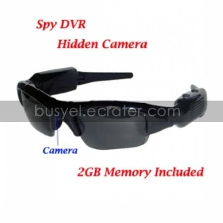 Sexy Sunglasses Spy Camcorder with 2GB Memory Card, Hidden Camera(TRA476)