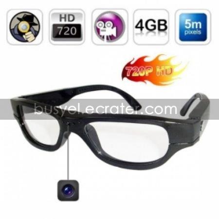 Spy Glasses With Hidden Spy Camera