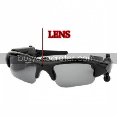 Spy Sunglasses Camera With MP3 FM Bluetooth 2GB MemoryHidden Camera(TRA182)