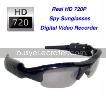 Ultra Cool Spy Sunglasses + Hidden Camera