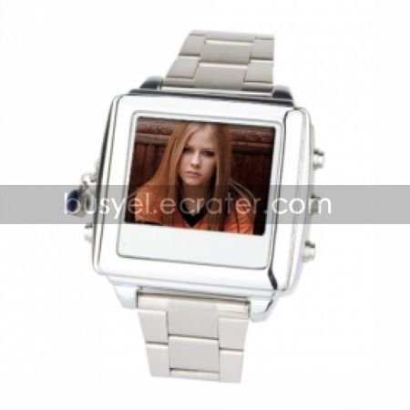 2GB 1.5Inch MP4 Player Video Spy Watch Camera Camcorder Silver(HMM032A)