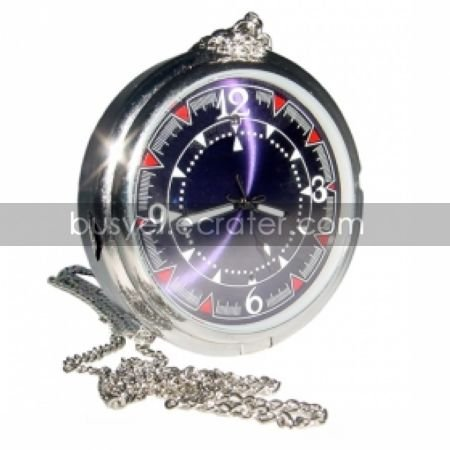 4G HD 1280x960 Pocket Watch Style DVR Motion-Activated Hidden Pinhole Color Camera (TRA558)