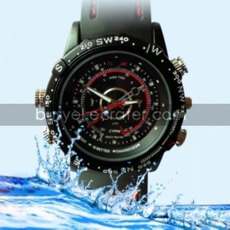 4GB High Definition 1280x960 Waterproof Fashion Spy Watch Digital Video Recorder with Hidden Camera