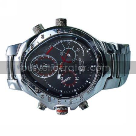 4GB Waterproof Sport Watch + HD Hidden Camera + Stainless Steel Casing