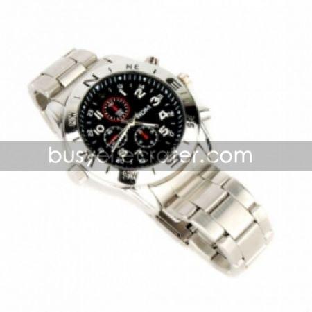 640480@30fps Spy DVR camera Watch with 8GB built-in Memory Hidden Camera (YP-0705)