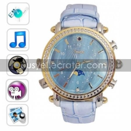 Fashion Design Watch Digital Video Recorder with MP3 Player, 4G Memory Included, Hidden Camera 2