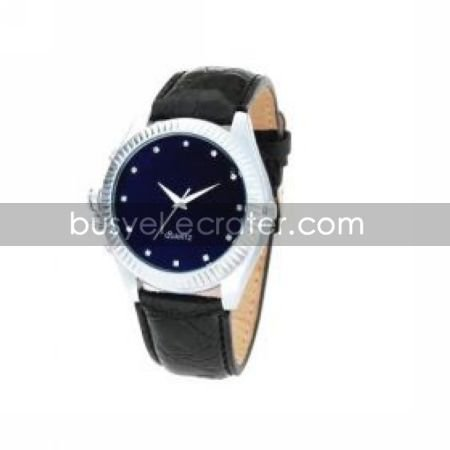 Spy Hidden Camera Watch with Stylish Leather Band and 2GB Built In MemoryHidden Camera