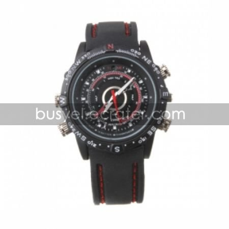 Waterproof Watch with HD Camera