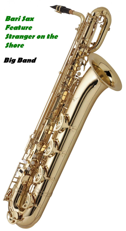 Big Band Music Chart Arrangement Stranger on the Shore - PDF