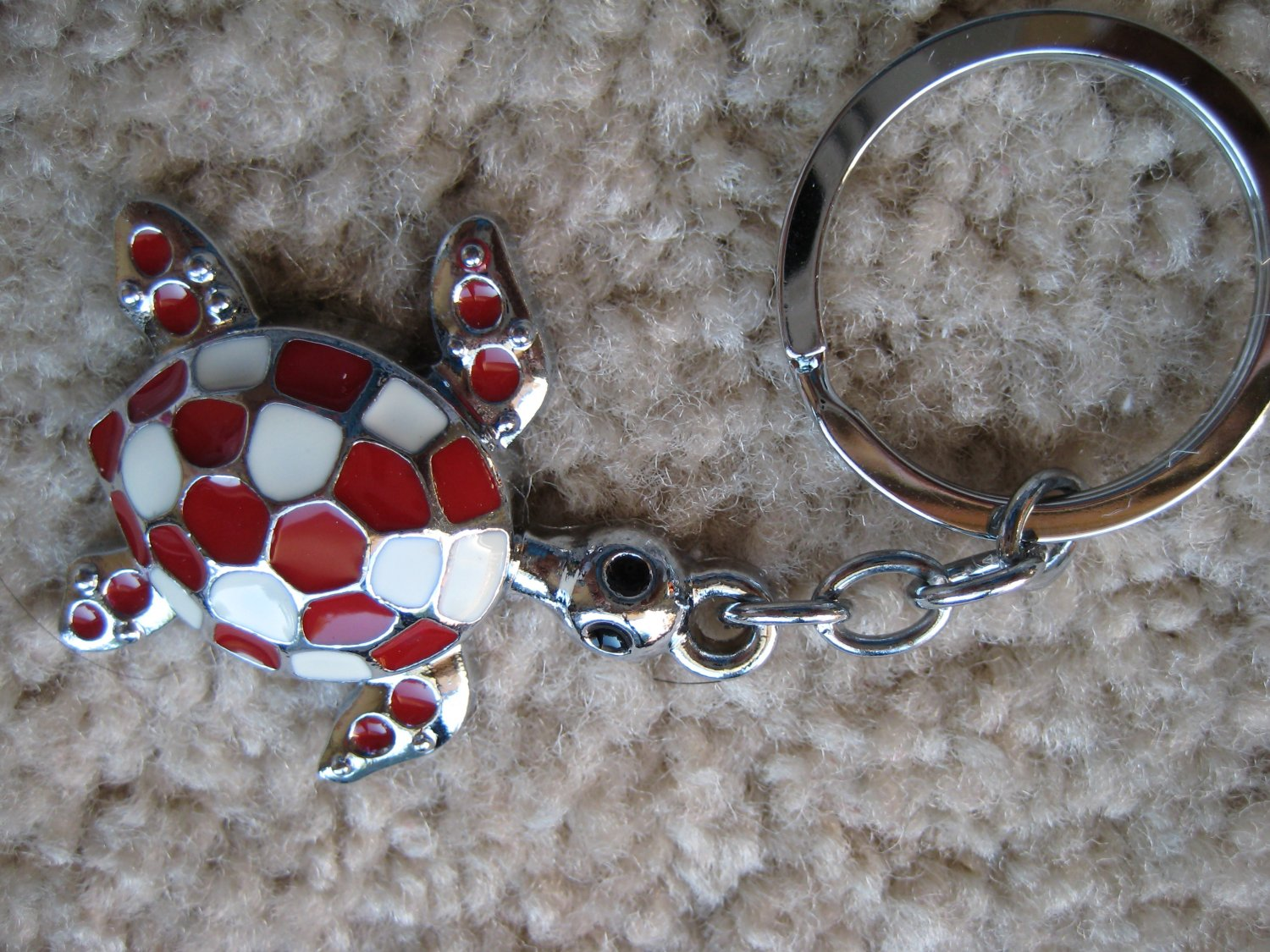 Lucky turtle keycahin (Red)