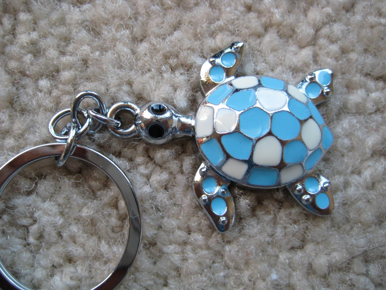 Lucky turtle keycahin (Blue)