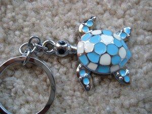 Lucky turtle keycahin (Blue)