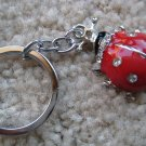 Lucky ladybug keycahin (Red)