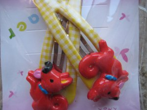 Pony hair clips B