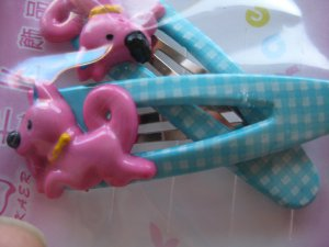 Pony hair clips D