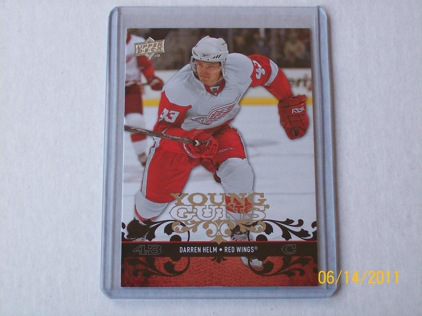 2008-09 Upper Deck Hockey Series 1 - Young Guns #213 - Darren Helm