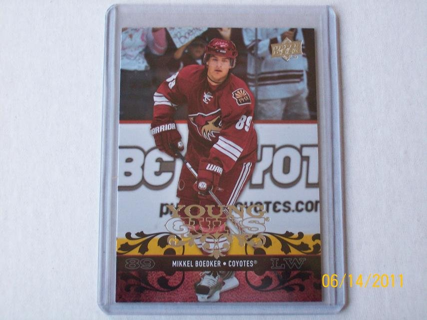 2008-09 Upper Deck Hockey Series 1 - Young Guns #237 - Mikkel Boedker
