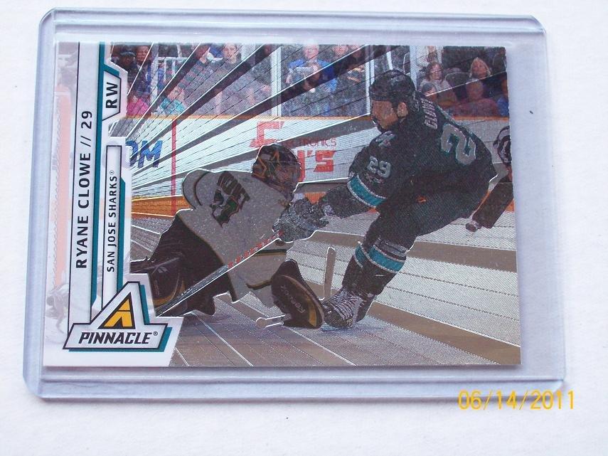 2010-11 Pinnacle Hockey - Rink Collection Parallel #35 - Ryane Clowe