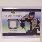 2007-08 Upper Deck Hockey Series 1 - Game Jersey #J-JD - J.P. Dumont