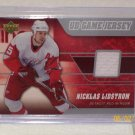 2006-07 Upper Deck Hockey Series 2 - Game Jersey #J2-NL - Nicklas Lidstrom