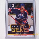 2009-10 Upper Deck Hockey Series 1 - Draft Day Gems #GEM14 - Mark Messier