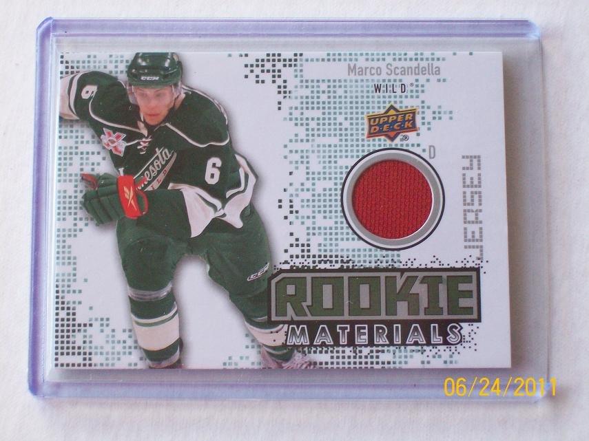 2010-11 Upper Deck Hockey Series 2 - Rookie Materials #RM-MS - Marco Scandella