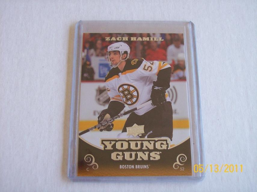 2010-11 Upper Deck Hockey Series 1 - Young Guns #206 - Zach Hamill