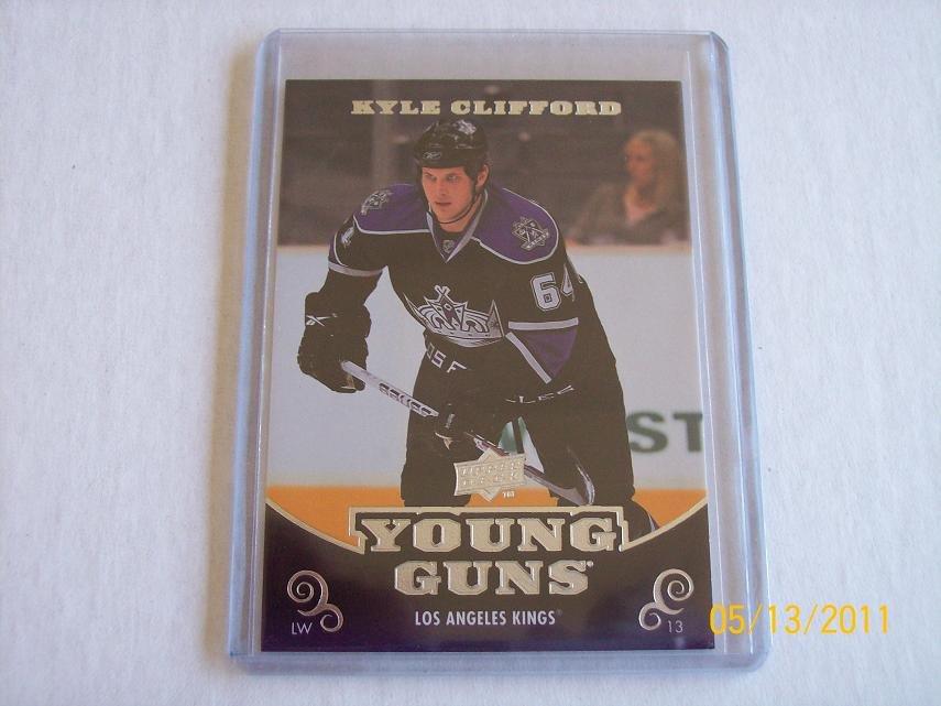 2010-11 Upper Deck Hockey Series 1 - Young Guns #224 - Kyle Clifford