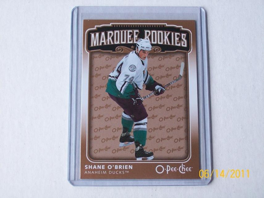 2006-07 O-Pee-Chee Hockey - Marquee Rookies #536 - Shane O'Brien