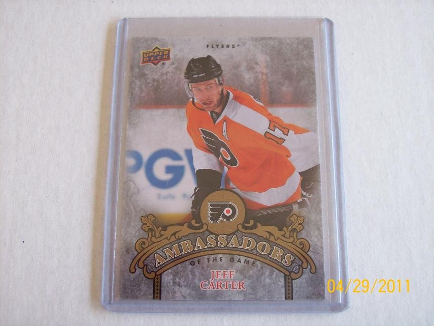 2010-11 Upper Deck Hockey Series 2 - Ambassadors of the Game #AG34 - Jeff Carter
