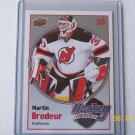 2009-10 Upper Deck Hockey Series 1 - Hockey Heroes #HH10 - Martin Brodeur