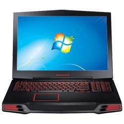 """Dell Alienware 17"""" Intel Core i7-740QM Laptop (M17x10-E1301CSB) - Black - English"""