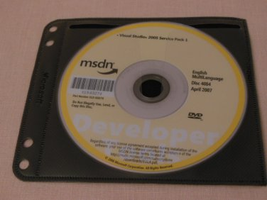 Genuine Microsoft Visual Stutdio 2005 and its Service Pack 1 DVD Full Version