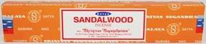 Sandalwood Incense Sticks 15 grams Saytya - ISSSSA15