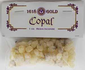 Copal Granular Incense 1 oz - IG16COP