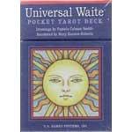 Universal Waite Pocket Tarot by Smith and Hanson-Roberts - DUNIWAI3