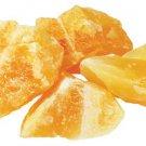 1lb Untumbled Orange Calcite Stones - GUCALOB